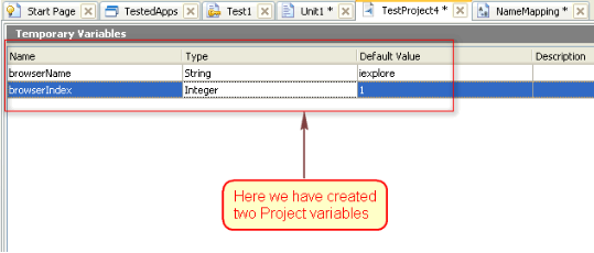 project_Variable_Creation