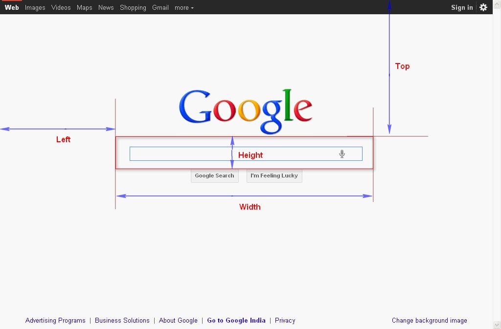 GoogleSearchBox -varrectImage