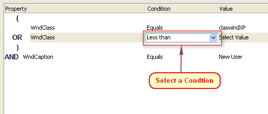 select-condition