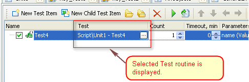 selected-test-routine-displayed