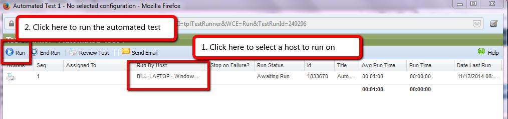 Standalone run mode in QAComplete