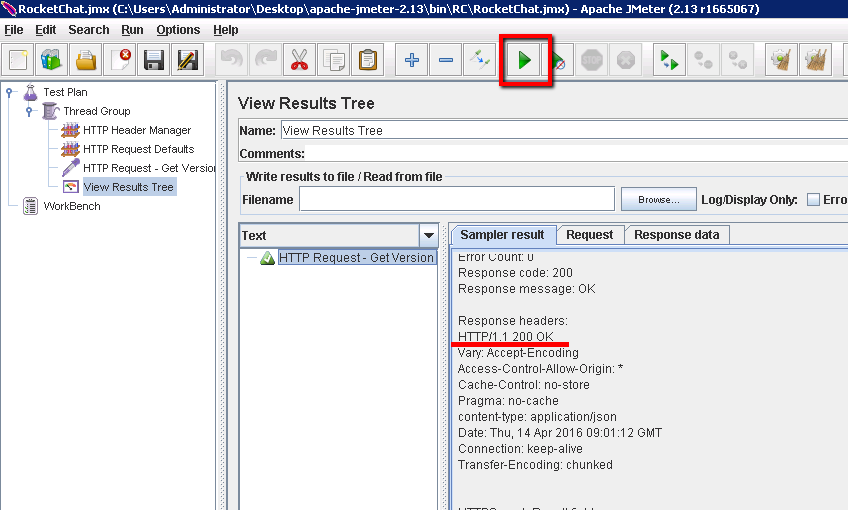 Module 5 - Running Our Performance Tests with JMeter - Test Management