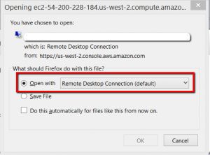 AWS EC2 Windows connect with RDP
