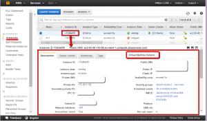 AWS Management Console EC2 Instance