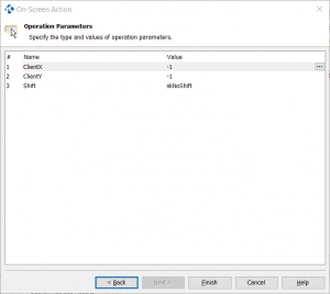 TestComplete Operations Parameters