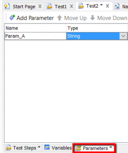 TestComplete Parameters