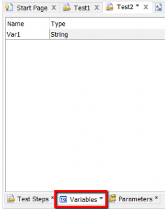 TestComplete variables