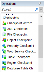 testcomplete checkpoint types