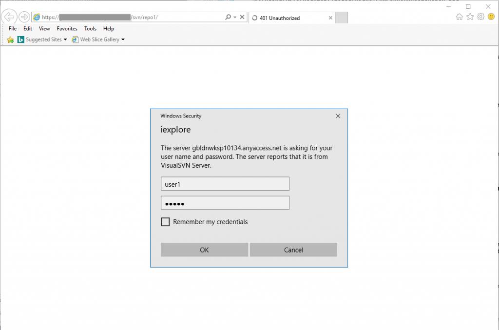 Visual SVN Server Browse Repo