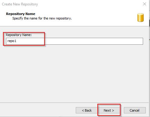 Visual SVN Server Create 3rd Repo