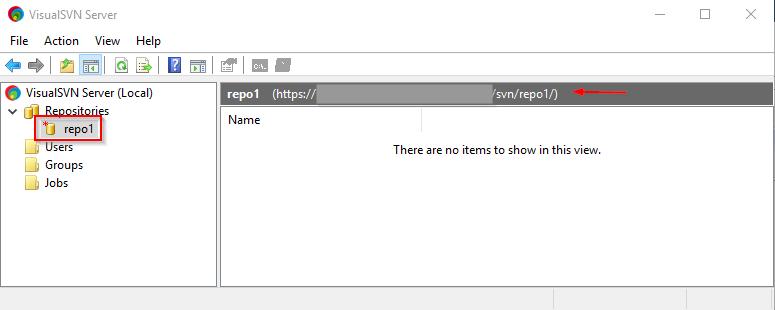 Visual SVN Server Create 7th Repo