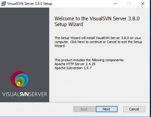 Visual SVN Server Setup
