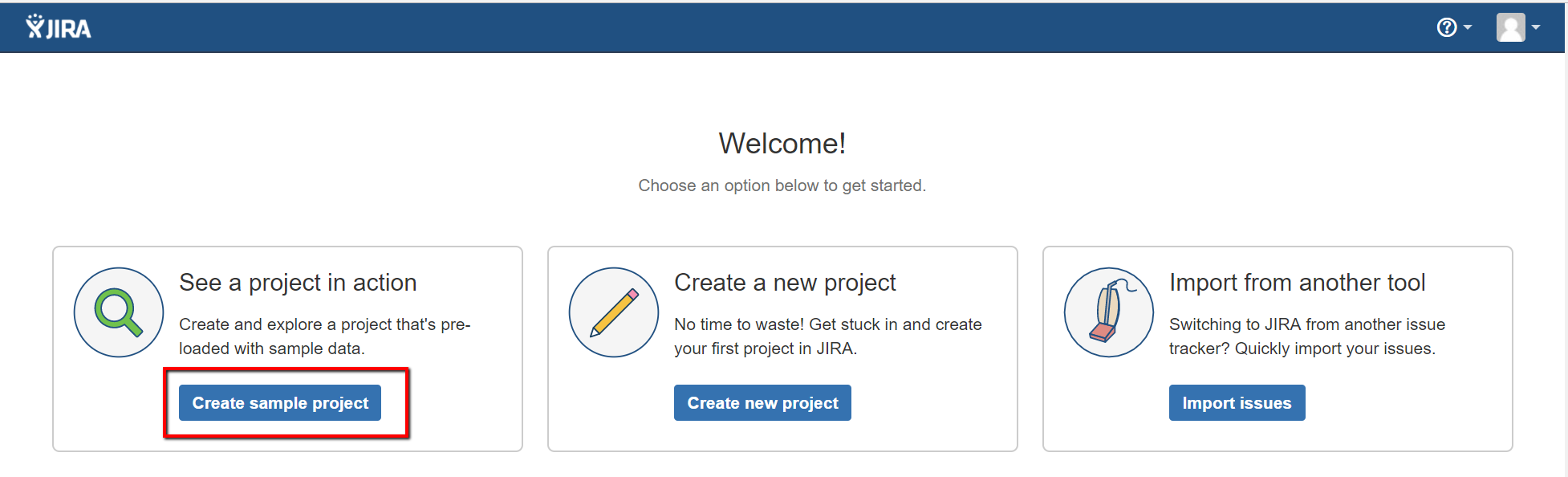 jira-create-sample-project