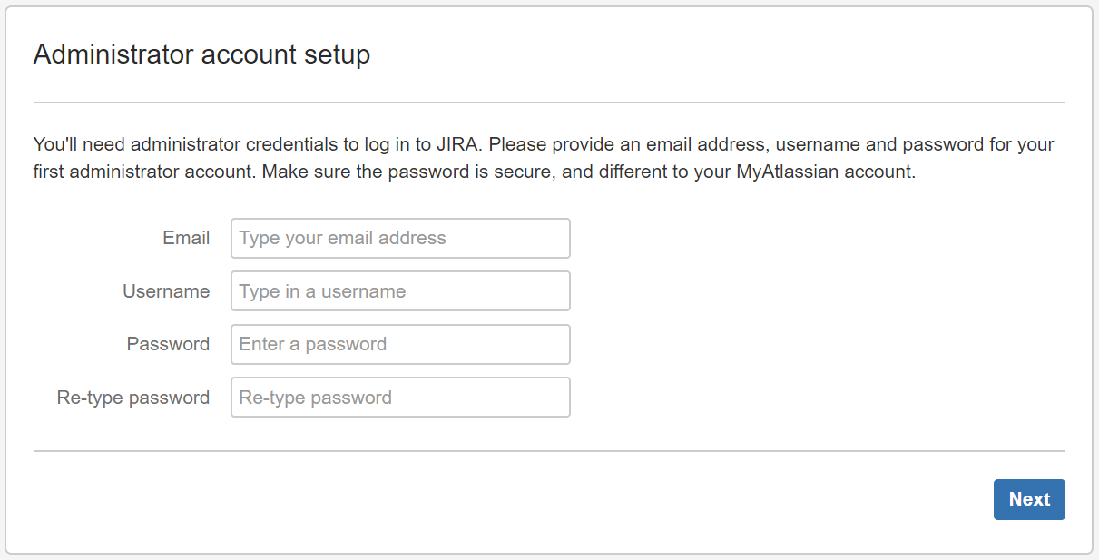 jira-setup-account