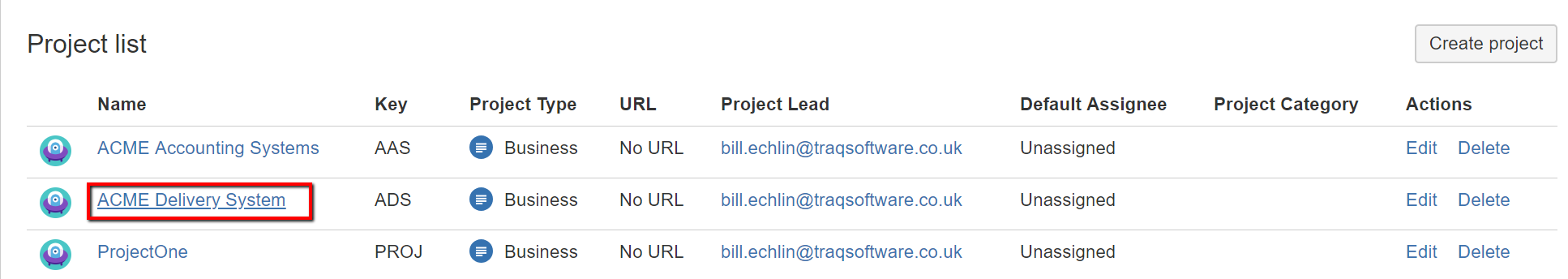 jira view archived versions