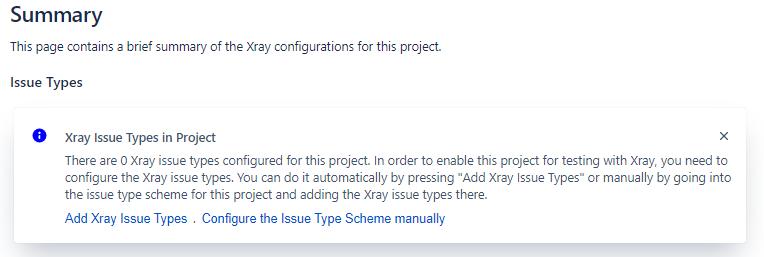 XRay Configuration