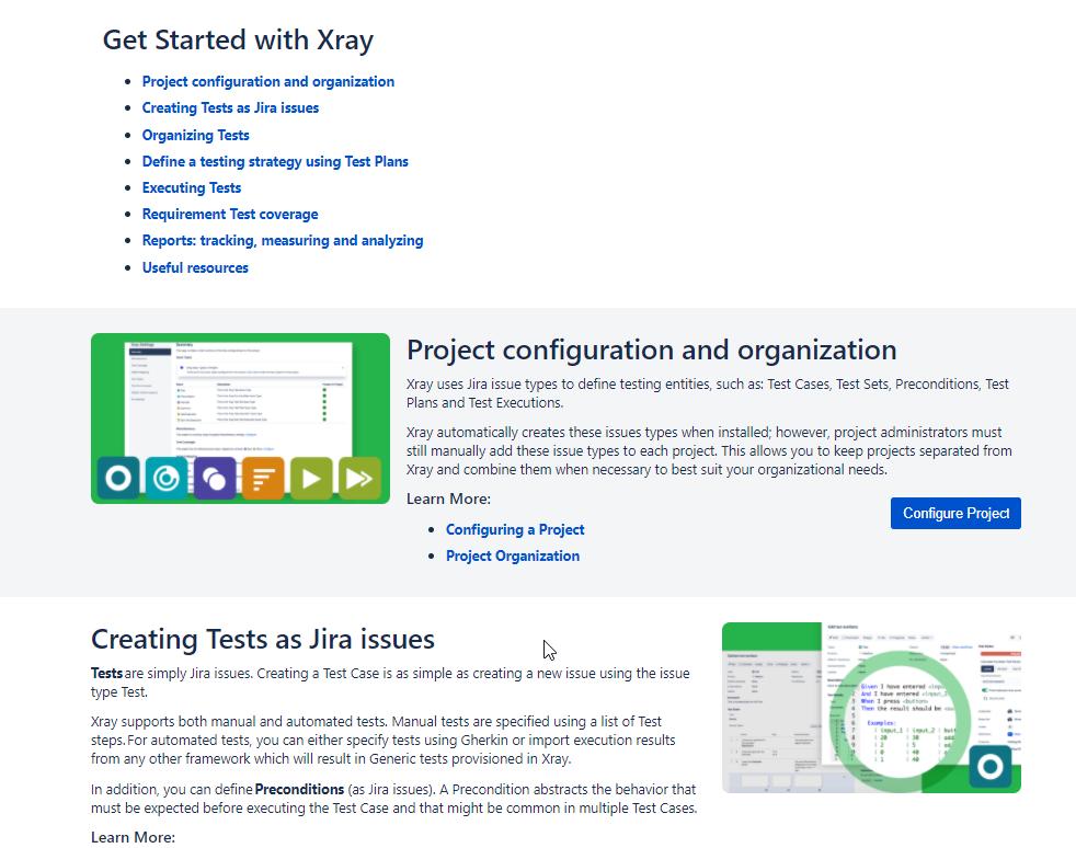 XRay homepage