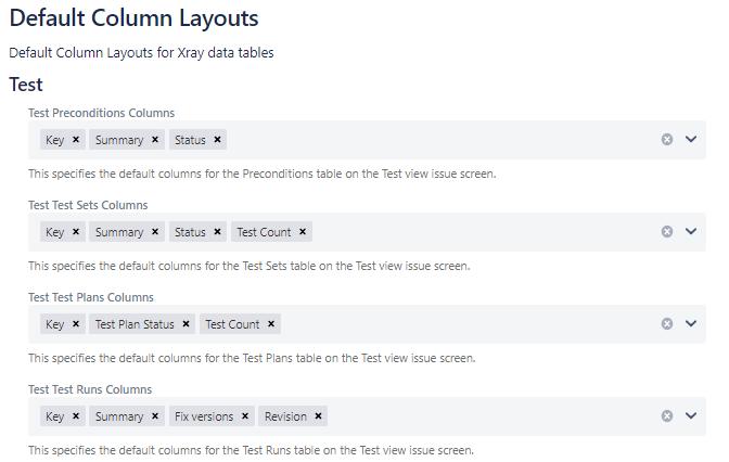 XRay Page Layouts