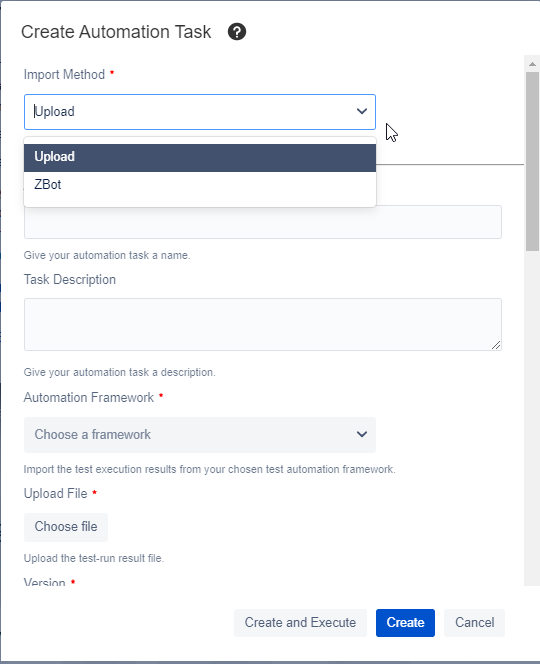 Zephyr for Jira Automation execution