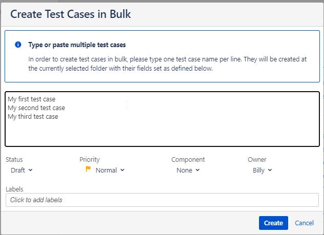 Zephyr Scale Adding Test Cases In Bulk