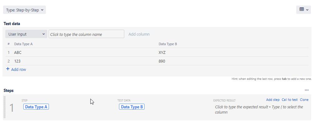 Zephyr Scale Data Set